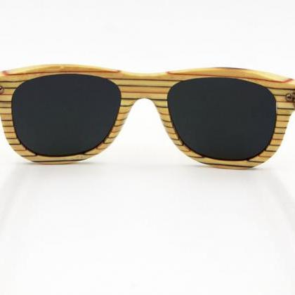 New Fashion Bamboo Sunglasses UV400..