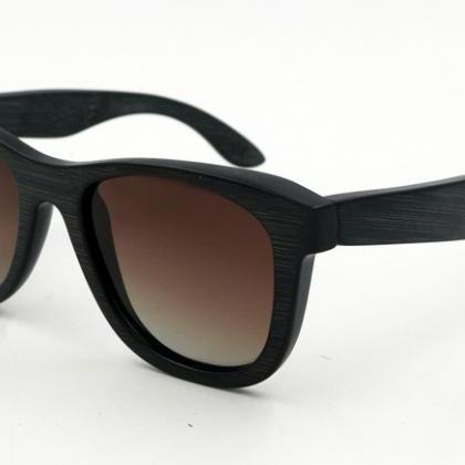 Riding Bamboo Sunglasses UV400 Pola..