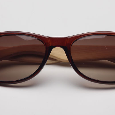 Classic Eyeglass Frame Fashion Handmade Natural Bamboo Leg Sunglasses UV400
